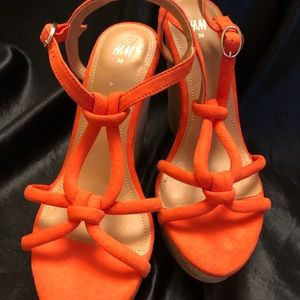 H&M wedge sandals